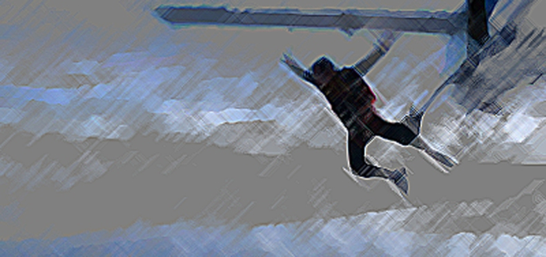 paraquedas estilo